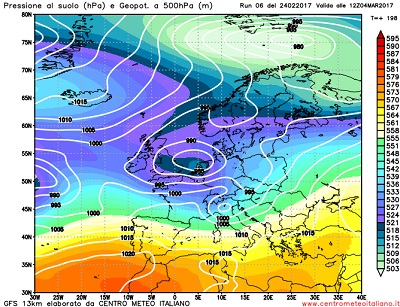 Meteo prossima settimana: anticiclone e maltempo si contendono l'Italia