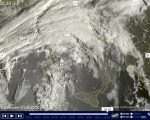 Tempo in atto nuova perturbazione sull'Italia, con precipitazioni e neve