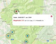 Terremoto oggi Marche 26 febbraio 2017, scossa M 3.3  in provincia di Macerata alle ore 18:04, segue una lieve replica di M 2.2 con epicentro analogo al sisma principale. Nessun sisma localizzato in altre zone del territorio italiano finora