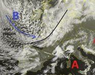 Situazione dal Satellite relativa alle ultime ore, con un aumento della nuvolosità in atto sulle regioni del nord Italia per l'avvicinarsi di una modesta perturbazione dal nord Atlantico. Tempo invece stabile sulle restanti regioni italiane con solo la presenza di innocua nuvolosità sulle regioni meridionali.