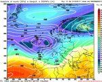 Analisi modelli GFS12Z:  alle porte un periodo caratterizzato da intenso maltempo e piogge diffuse. L'Europa attraversata da un complesso flusso di correnti instabili e di origine atlantica 1 marzo 2017
