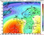 Analisi modelli GFS00Z:  piogge e clima perturbato si confermano alle porte. Più stabile al Nord nel medio termine? La conferma arriva anche dall'emissione di questa mattina, l'anticiclone delle Azzorre potrebbe farsi avanti nella prossima settimana