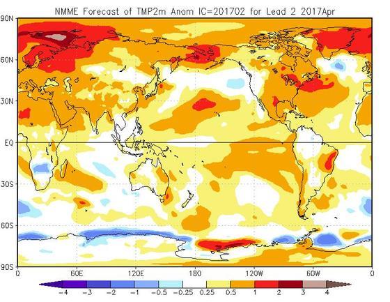 Meteo Aprile 2017, tutte le tendenze e previsioni aggiornate - cpc.ncep.noaa.gov