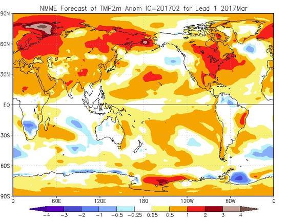 Meteo Marzo 2017, tutte le tendenze e previsioni aggiornate - cpc.ncep.noaa.gov