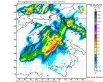 Meteo Toscana, Umbria e Lazio che sarà perturbato nei prossimi gironi, maltempo a tratti anche intenso. Fenomeni previsti tra Sabato e Domenica dal nostro modello WRF