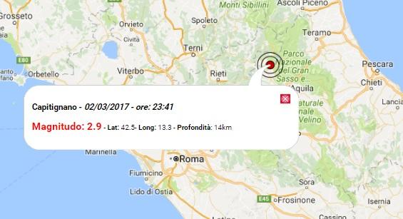 Terremoto oggi abruzzo ed emilia romagna 2 marzo 2017 for Oggi in romagna