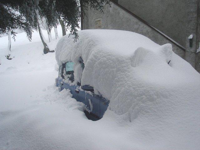 Meteo - Torna la neve nelle aree terremotate dell'Appennino
