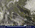 Tempo in atto sole prevalente sull'Italia salvo qualche nube specie al Sud