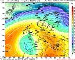 Analisi modelli 00z: cedimento dell' Anticiclone e piogge in arrivo sulle regioni settentrionali