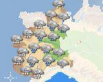 ALLERTA meteo LIGURIA e PIEMONTE maltempo intenso con rovesci, temporali e neve