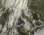 Tempo in atto: molte nubi in transito al nord Italia con piogge associate, più asciutto altrove