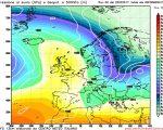 Modello GFS elaborato dal nostro Centro di Calcolo - Pressione al livello del mare e Geopotenziale a 500 hPa alle 06Z del 30 marzo 2017