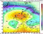 Peggioramento meteo nei prossimi giorni in Italia, specie al Nord. Possibile goccia fredda orientale per fine mese.