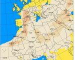 Meteo tanta sabbia in arrivo sull'Italia specie sui settori occidentali