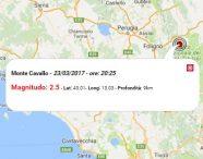 Terremoto oggi, scossa M 2.5 nelle Marche