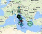 Serie di sismi avvertiti in molte regioni da Nord a Sud: trema senza sosta la Penisola italiana anche nella giornata odierna 24 marzo 2017