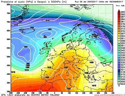 METEO ITALIA: residua instabilità al sud, stabile sul resto del Paese