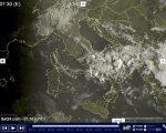 METEO live tempo instabile al Sud Italia e localmente anche sul Piemonte