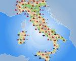 METEO  temperature in aumento sull'Italia con l'arrivo di aria più calda