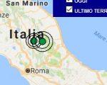 Terremoto oggi Umbria 30 marzo 2017, scossa M 2.6 provincia di Perugia - Dati Ingv