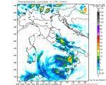Modello WRF elaborato dal nostro Centro di Calcolo - Precipitazioni cumulate in 24 ore alle 05Z del 04 aprile 2017