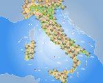 Previsioni meteo Italia 6 Aprile 2017