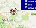Terremoto oggi Basilicata 5 aprile 2017, scossa M 2.7 a Potenza - Dati Ingv