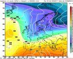 Analisi modelli GFS00Z:  anticiclone in rinforzo nei prossimi giorni, poi torna il maltempo al Nord: il dettaglio del tempo atteso nel breve e nel medio termine dal modello americano di questa mattina 20 aprile 2017