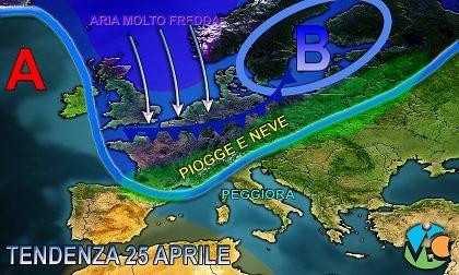 Meteo weekend e ponte del 25 Aprile, tempo stabile salvo locali temporali sui rilievi. Peggioramento da Martedì