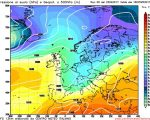 Situazione volta verso l'arrivo di una perturbazione Atlantica sull'Italia dalle giornate di Martedi e Mercoledi confermata questa mattina dall'aggiornamento di GFS00z.