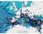 Sisma Mediterraneo, serie di intense scosse colpiscono diverse regioni. Coinvolta anche l'Italia