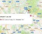 Terremoto oggi, diverse scosse in Abruzzo