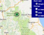 Terremoto oggi Marche 26 aprile 2017, scossa M 2.5 provincia di Macerata - Dati Ingv