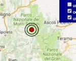 Terremoto oggi Umbria 27 aprile 2017, scossa M 2.6 provincia di Perugia - Dati Ingv
