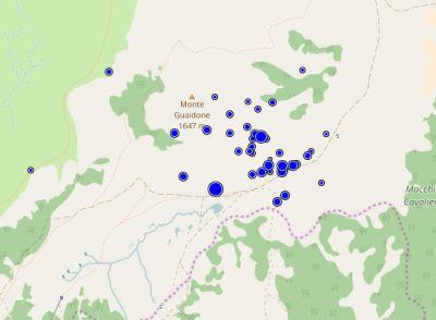 Sequenza sismica Italia centrale, le scosse stanno riprendendo vigore. I dati ufficiali e la mappa dell'Istituto Nazionale di Geofisica e Vulcanologia 19 maggio 2017, fonte immagine: Ingv