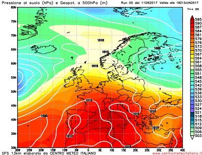 Meteo Napoli: ondata di calore per l'anticiclone africano