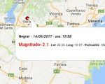 Terremoto oggi, scossa in Veneto