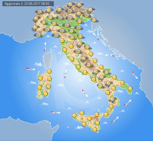 Meteo, arriva Caronte: caldo record in Italia negli ultimi 15 anni