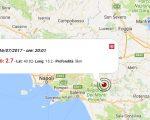 Terremoto oggi, scossa in Campania