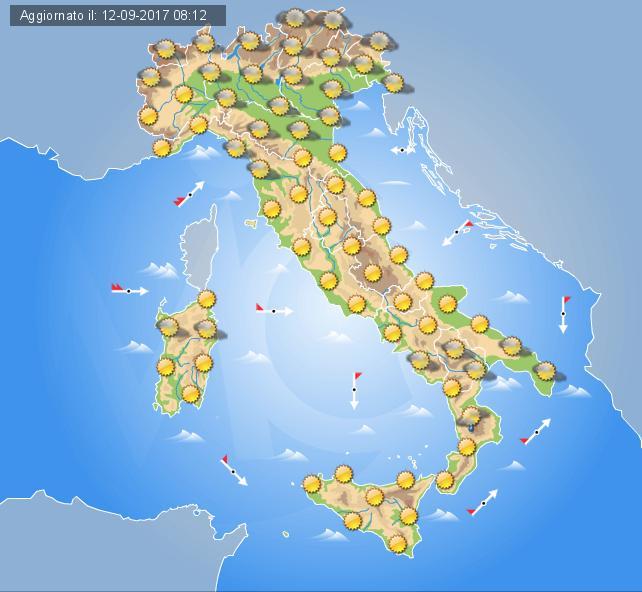 Via vai di perturbazioni sull'Italia, ancora piogge al nord