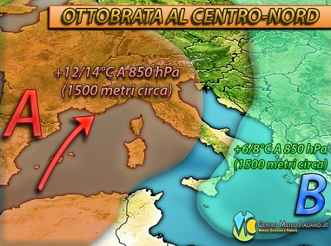 Meteo prossima settimana: torna l'anticiclone in Italia ma non senza qualche fenomeno