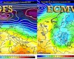 Analisi modelli meteo 5 novembre: grandi differenze nel medio-lungo periodo - meteociel.f