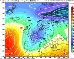 Piogge abbondanti per il finale di novembre secondo il modello GFS