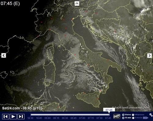 Meteo Venezia: piogge venerdì, pioggia mista a neve nel weekend
