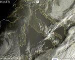 Oggi 22 dicembre tempo più stabile da Nord a Sud - sat24.com