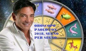 Oroscopo 2018 Di Paolo Fox Le Previsioni Del Nuovo Anno Per Tutti I