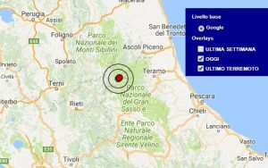 Terremoto oggi Lazio 11 gennaio 2018, scossa M 3.6 avvertita ad Amatrice, provincia di Rieti - Dati Ingv