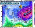 Ondata di gelo sull'Europa orientale, poi in marcia verso ovest