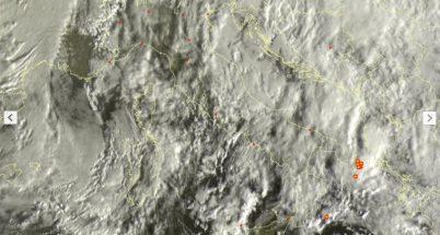 Maltempo invernale con piogge e neve a bassa quota - sat24.com