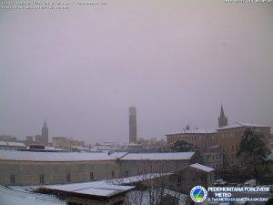 Città di Forlì, 22 Febbraio 2018 - fonte Pedemontana Forlivese Meteo